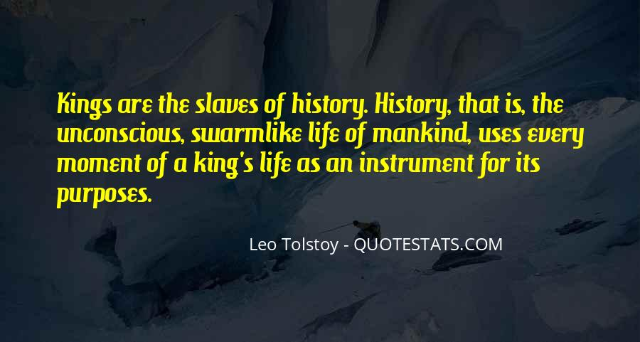Quotes About Tolstoy History #1858601