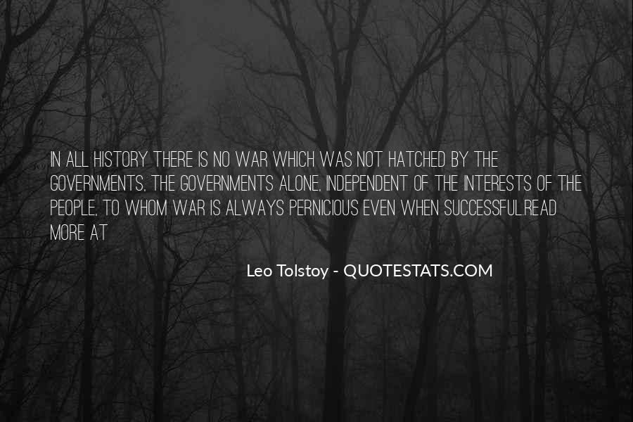 Quotes About Tolstoy History #34750