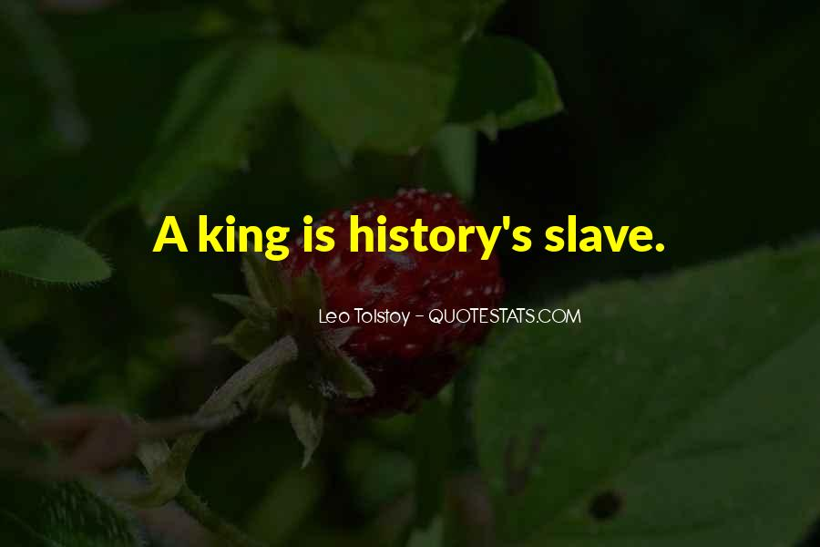 Quotes About Tolstoy History #452783