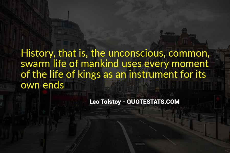 Quotes About Tolstoy History #971037