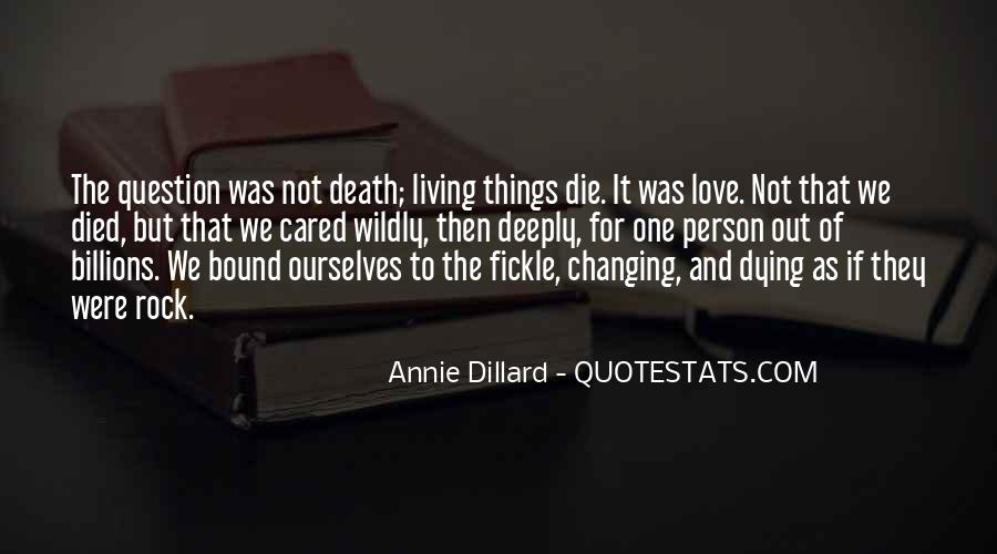 Quotes About The One You Love Dying #61096