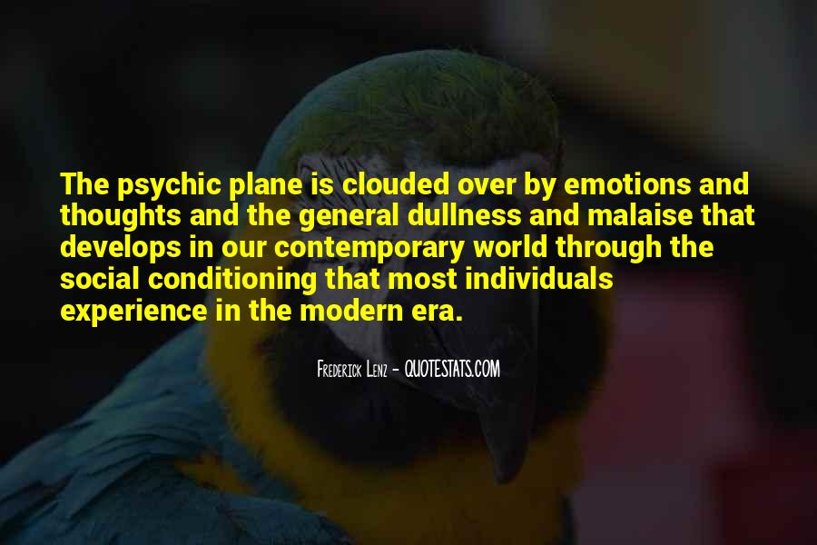 Quotes About Clouded Thoughts #529680