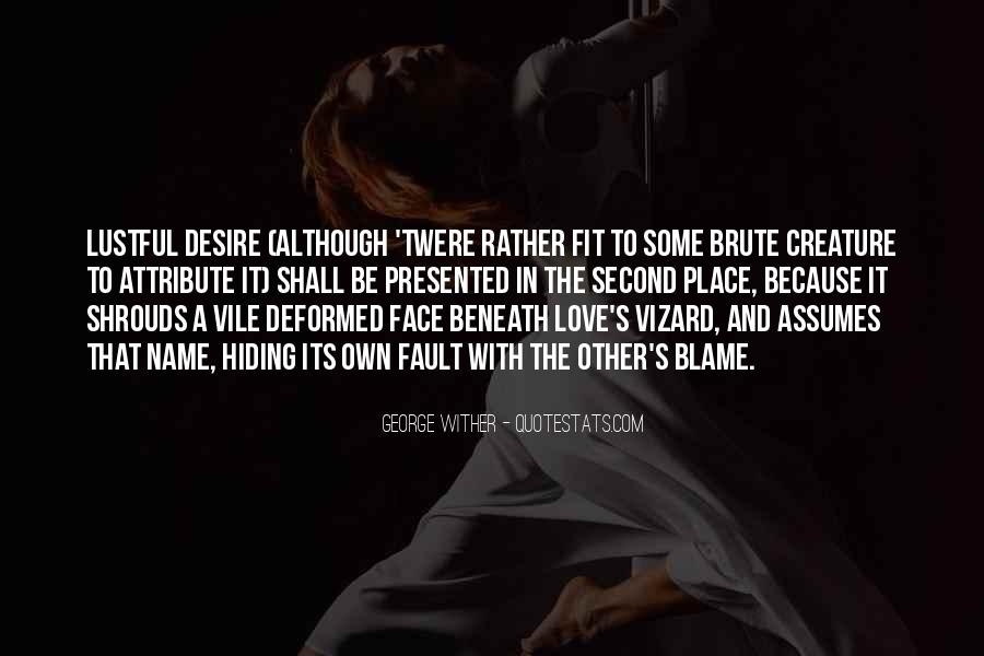 Quotes About Lustful Love #188404