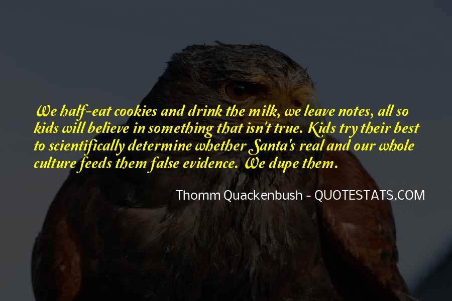 Quotes About Milk And Cookies #1438007