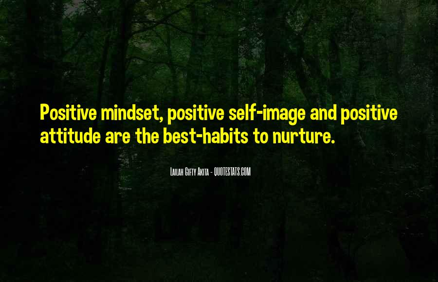 Quotes About Positive Mindset #848199