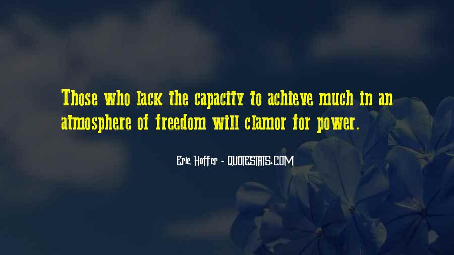 Quotes About Lack Of Freedom #275374