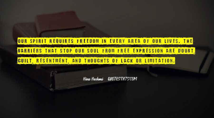 Quotes About Lack Of Freedom #708874