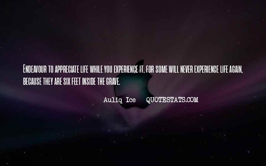 Quotes About Not Appreciating Others #221189