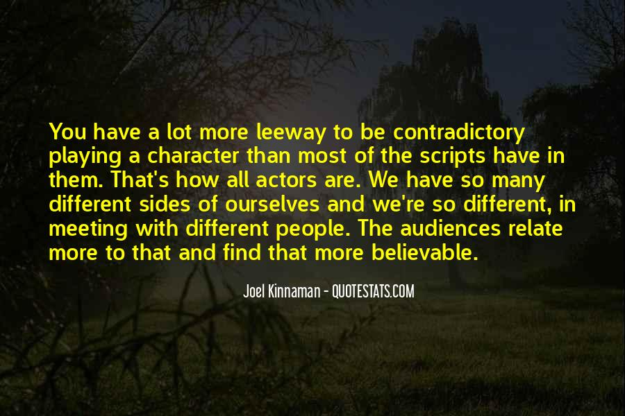 Quotes About Contradictory #191656