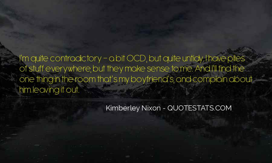 Quotes About Contradictory #218046