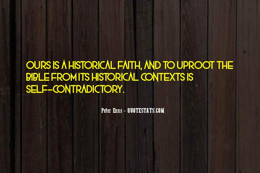 Quotes About Contradictory #246472