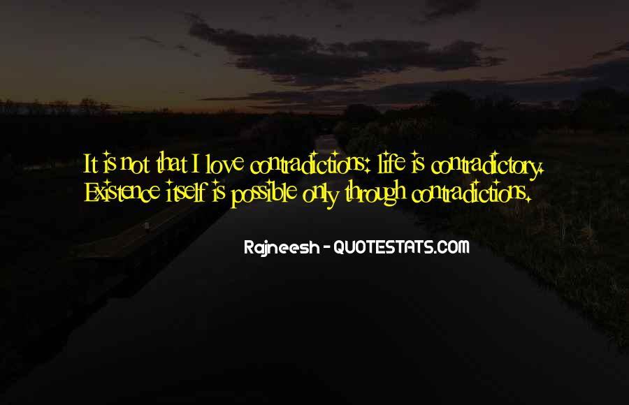 Quotes About Contradictory #324678