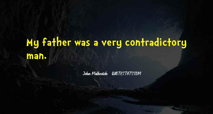 Quotes About Contradictory #369048