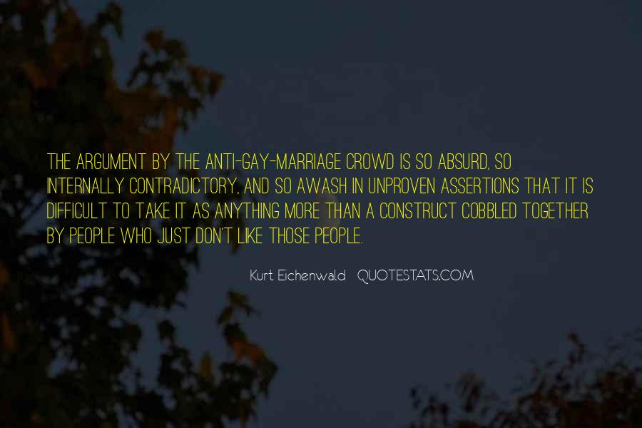Quotes About Contradictory #404568
