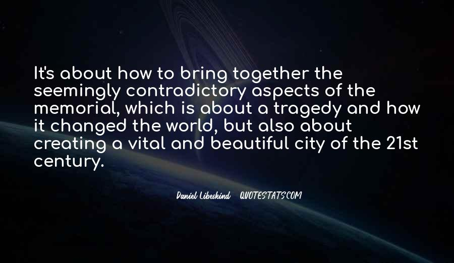 Quotes About Contradictory #428563