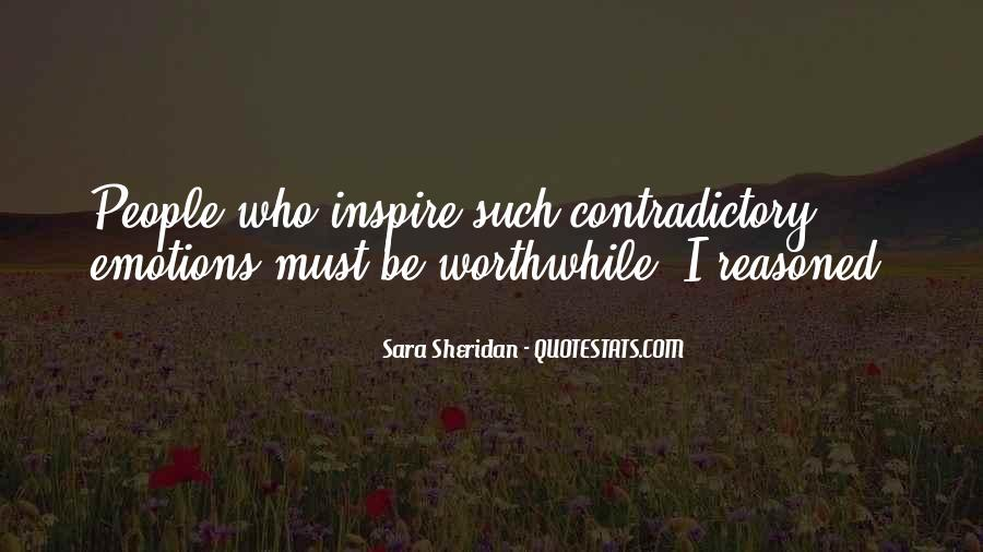 Quotes About Contradictory #465117