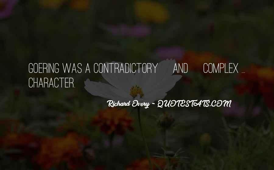 Quotes About Contradictory #97143