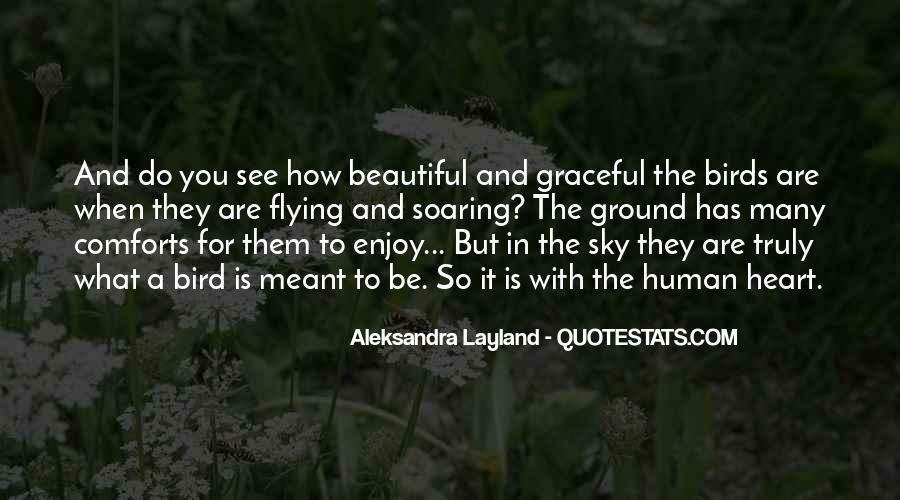 Quotes About Soaring In The Sky #1547539