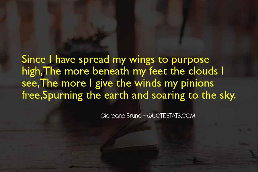 Quotes About Soaring In The Sky #963604