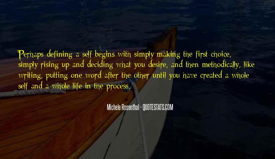Quotes About Defining One's Self #1222145