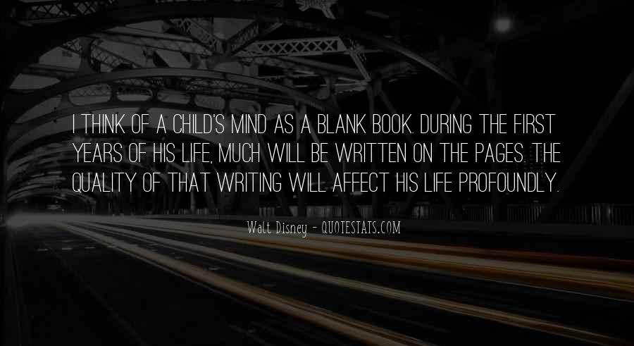 Quotes About A Child's Mind #1505517