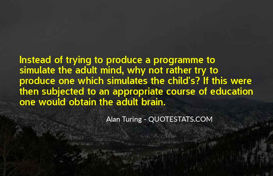 Quotes About A Child's Mind #1700962