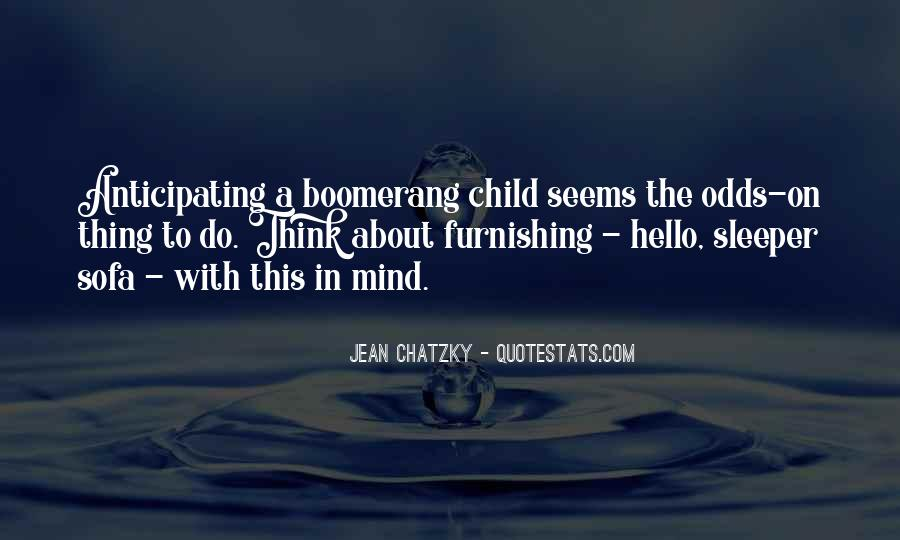 Quotes About A Child's Mind #231397