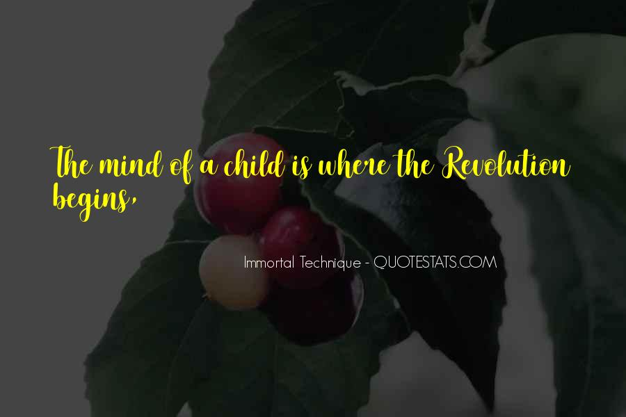 Quotes About A Child's Mind #368238