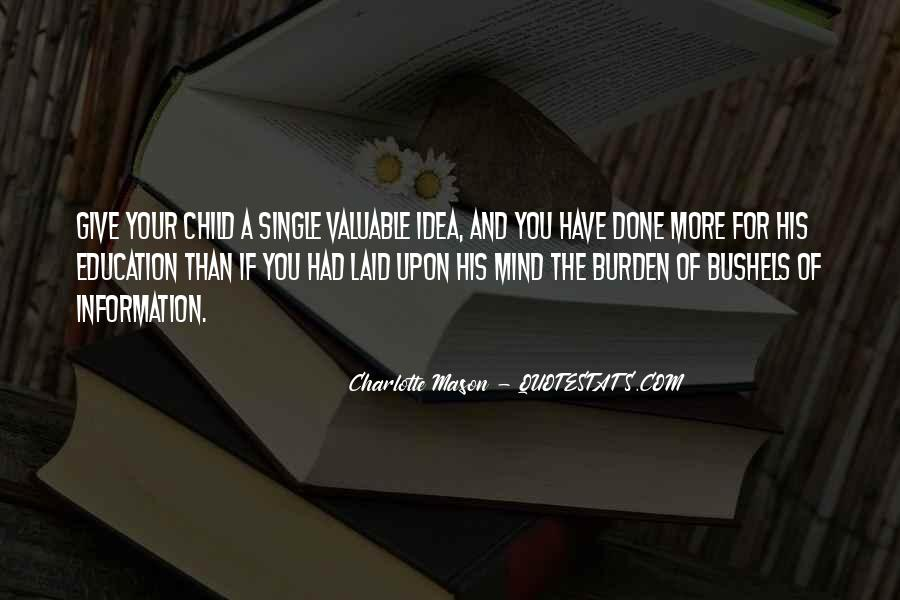 Quotes About A Child's Mind #400125