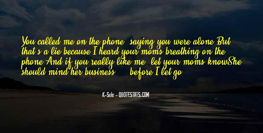 Quotes About Saying Sorry For Lying #275383