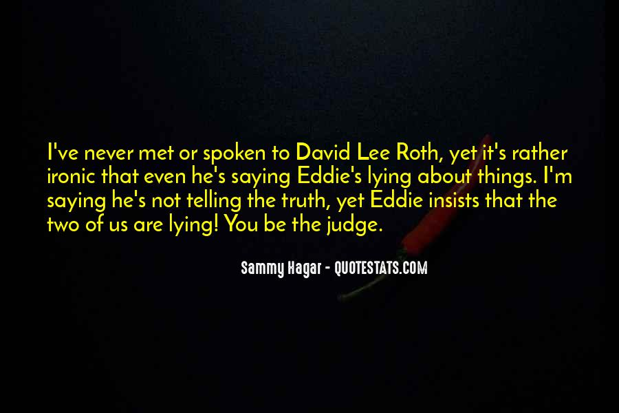 Quotes About Saying Sorry For Lying #292773