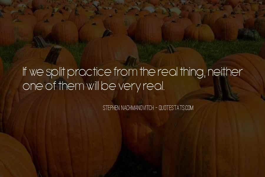 Quotes About The Splits #1185173