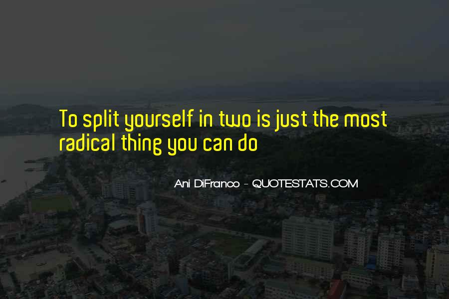 Quotes About The Splits #461108