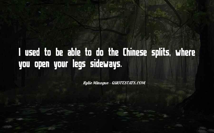 Quotes About The Splits #560857