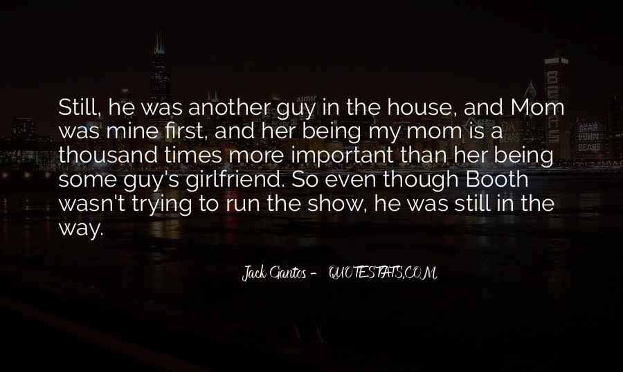 Quotes About Being Done Trying With A Guy #770457