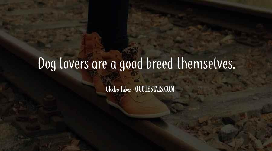 Quotes About Good Lovers #1722692