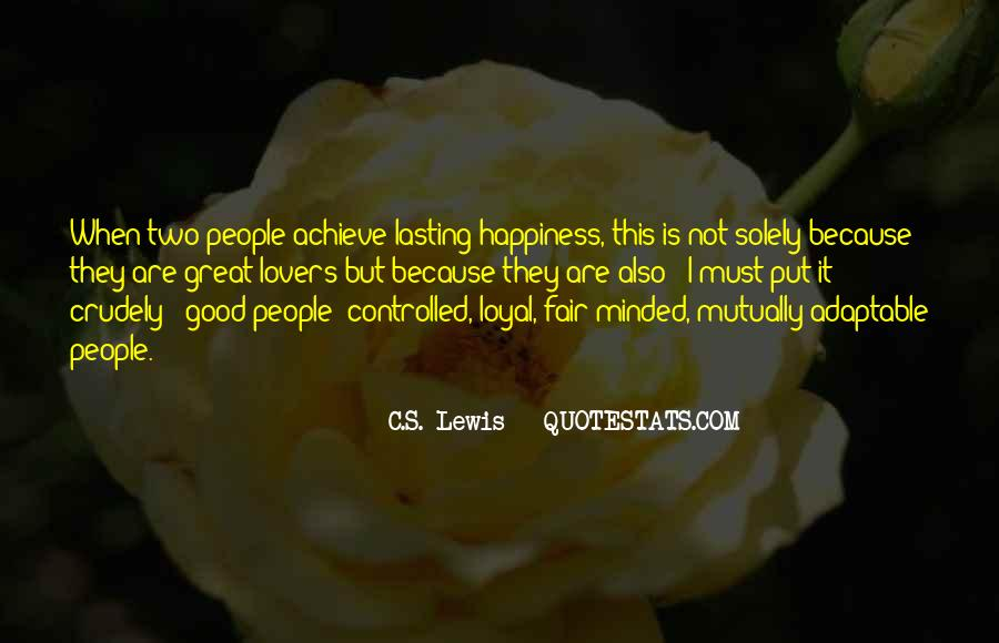 Quotes About Good Lovers #181969