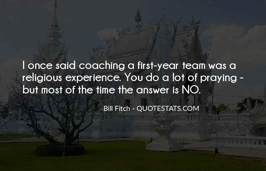 Quotes About Sports Team Leadership #1266874