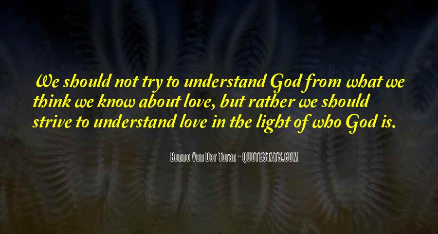 Quotes About God Is Light #101217