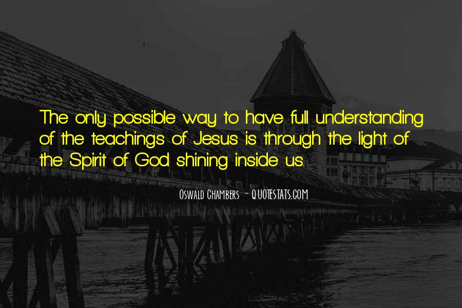 Quotes About God Is Light #1761