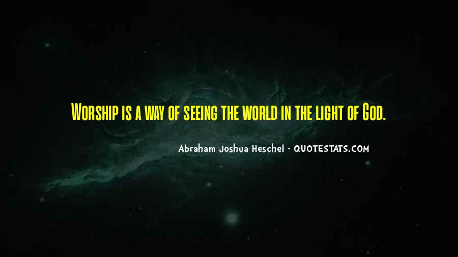Quotes About God Is Light #194175