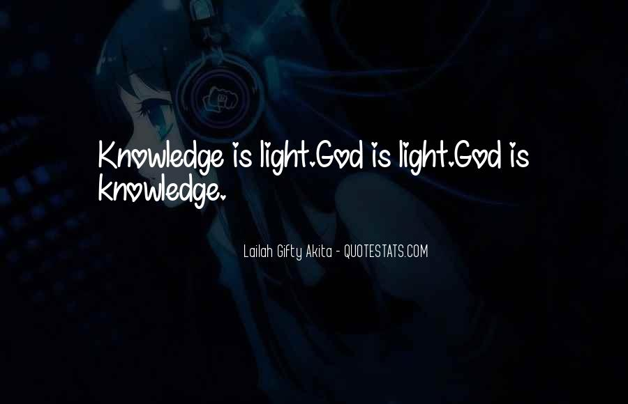 Quotes About God Is Light #300676