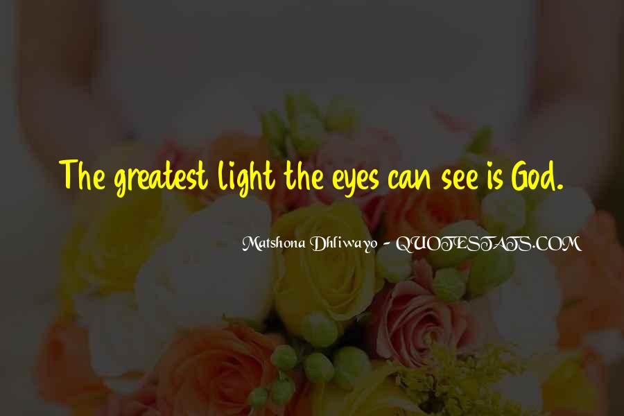 Quotes About God Is Light #77769