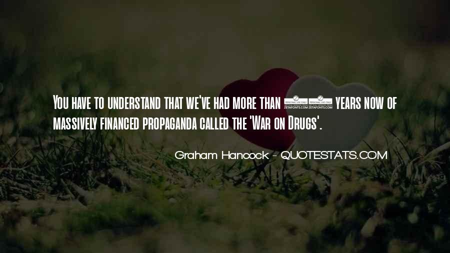 Quotes About War On Drugs #1529624