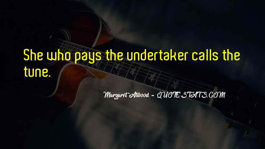 Quotes About Undertaker #1155454