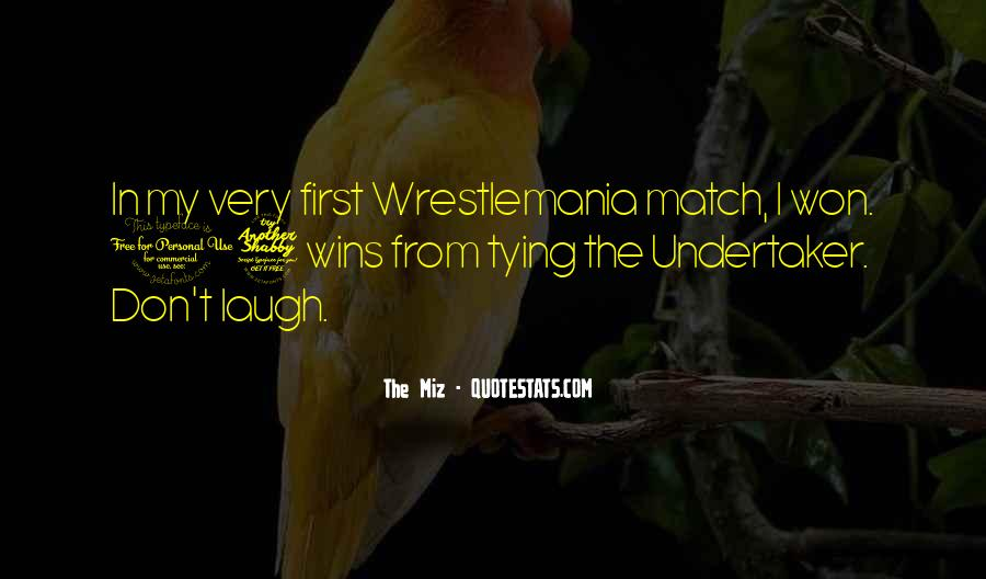 Quotes About Undertaker #1195052
