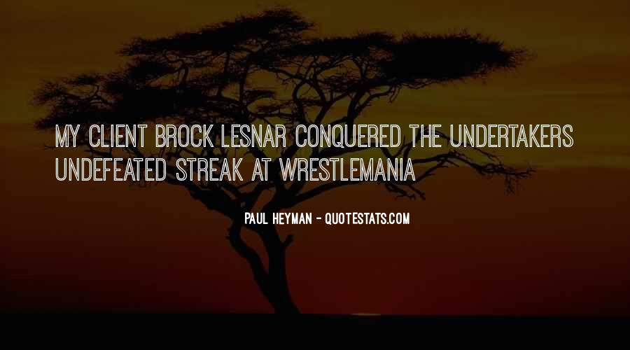 Quotes About Undertaker #670037
