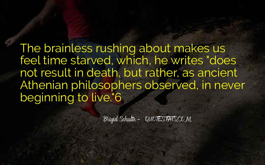 Quotes About Time By Philosophers #1246950