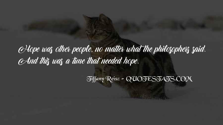Quotes About Time By Philosophers #1309097