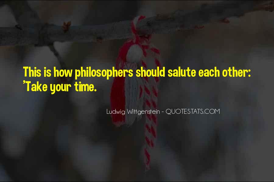 Quotes About Time By Philosophers #1615222